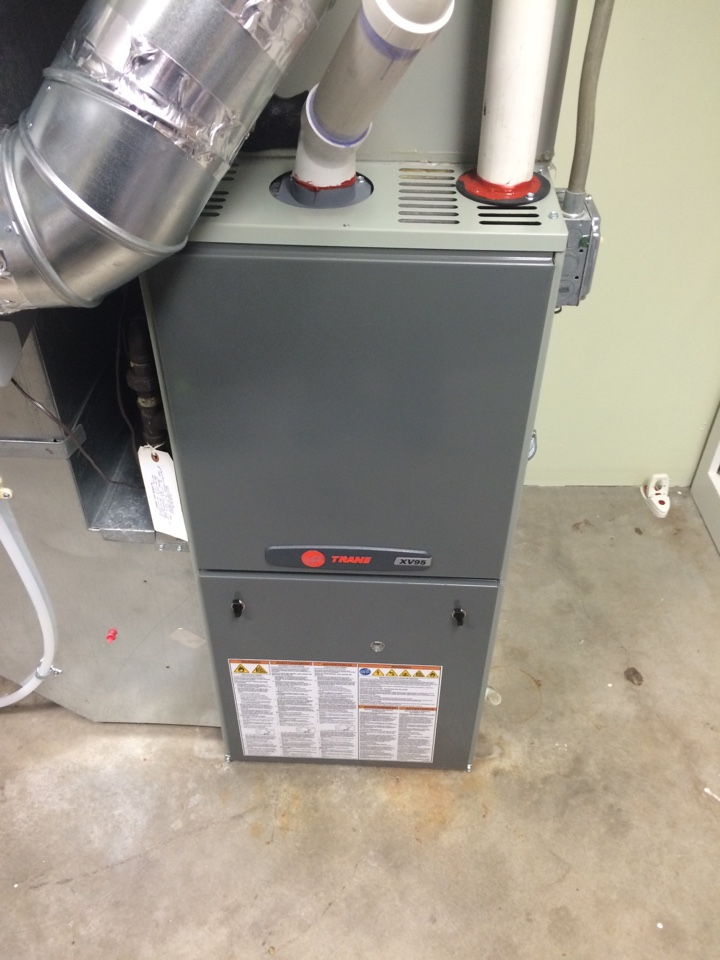 Maintenance on a trane xv95 furnace