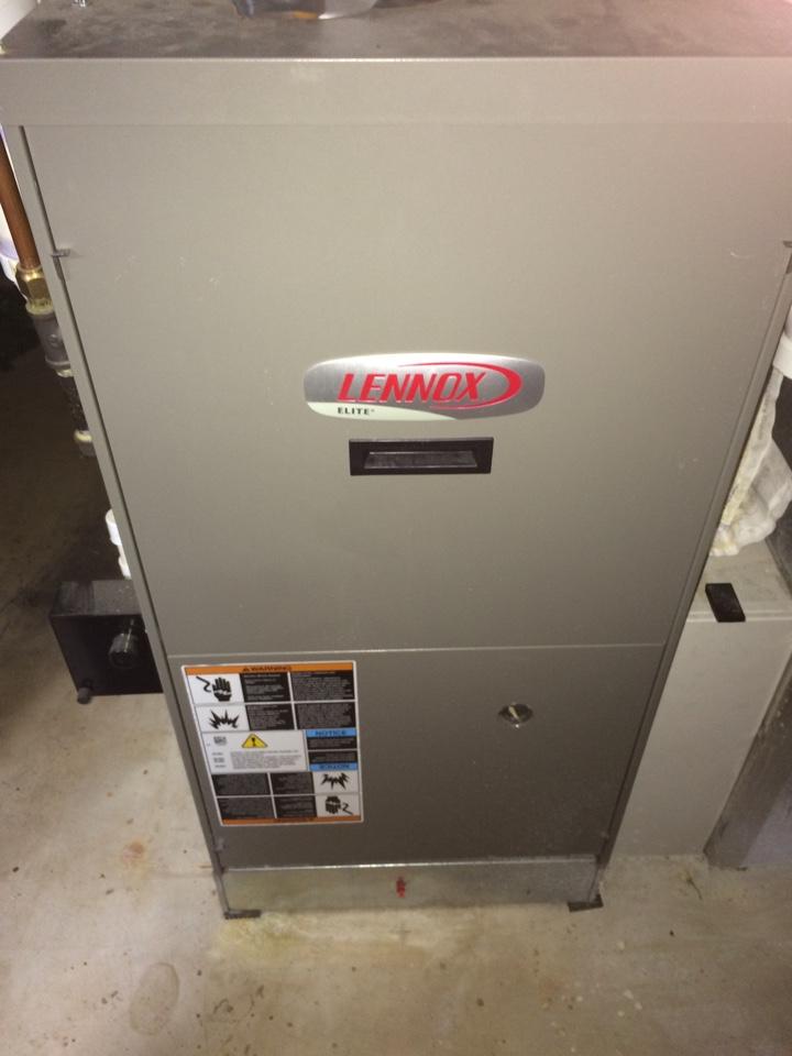 Wayzata, MN - Maintenance on a Lennox furnace