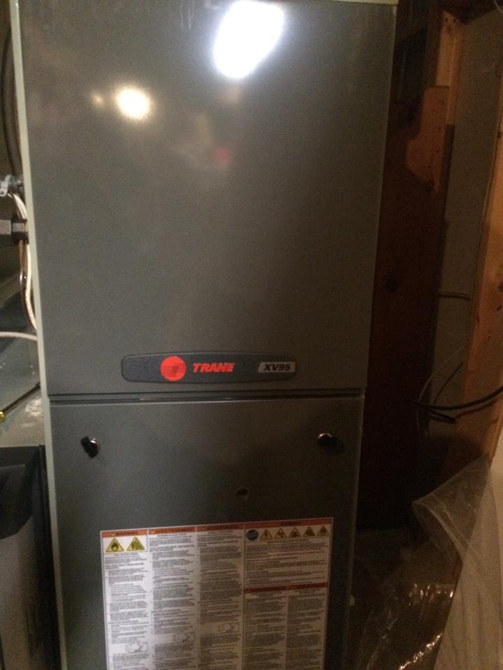 Wayzata, MN - Maintenance on a trane xv95 furnace