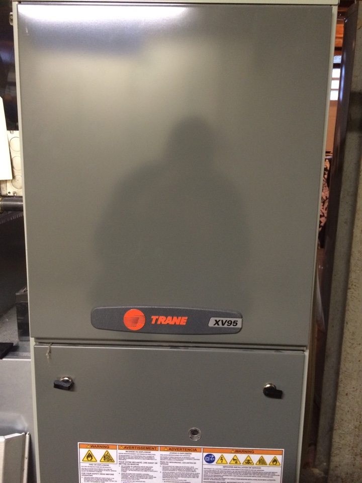Saint Paul, MN - Maintenance on a trane xv95 furnace