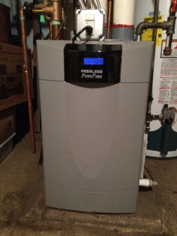 Saint Paul, MN - Maintenance on a peerless pure fire boiler