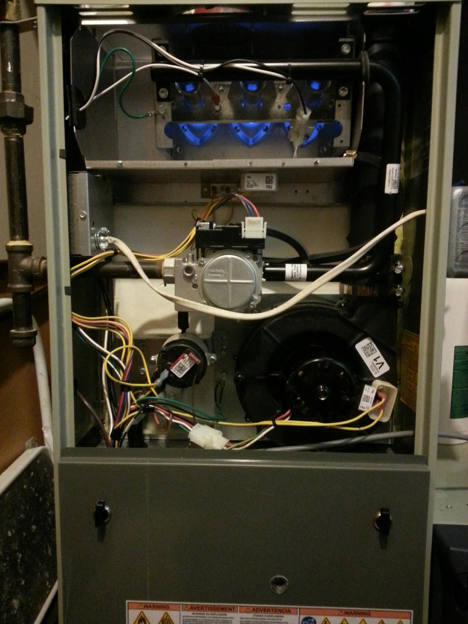 Trane furnace maintenance