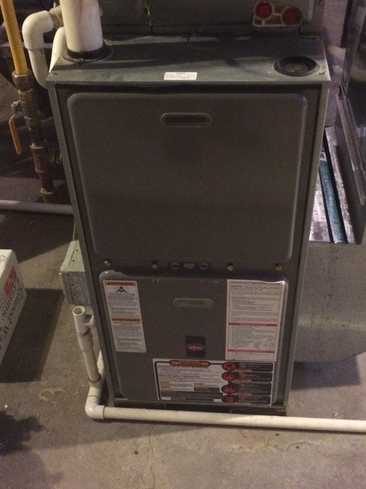 Maintenance on a rheem furnace