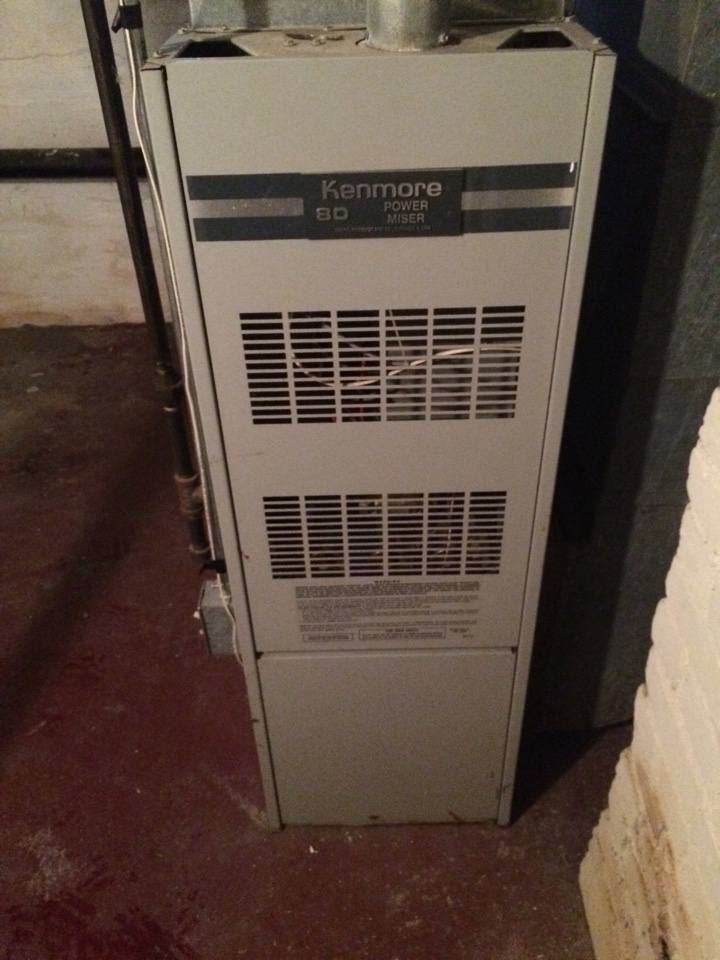 Maintenance on a kenmore furnace