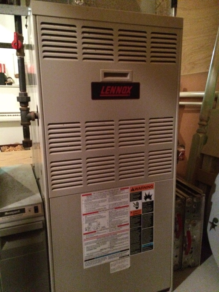 Excelsior, MN - Maintenance on a Lennox furnace