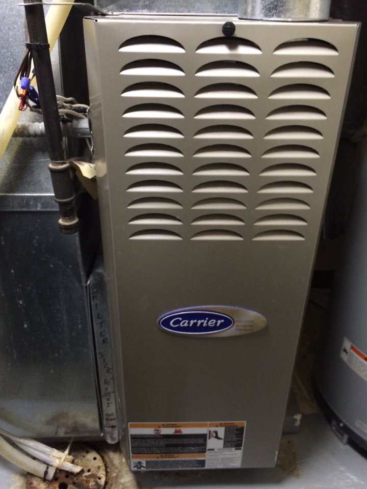 Maintenance on a carrier infinity 80 furnace