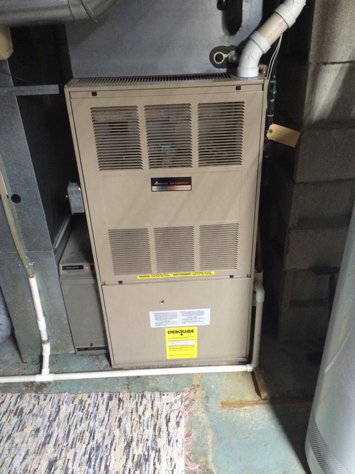Minnetonka, MN - Maintenance on a Amana furnace