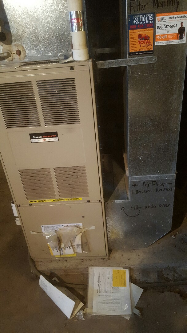 Minneapolis, MN - Furnace air conditioning service repair tune up