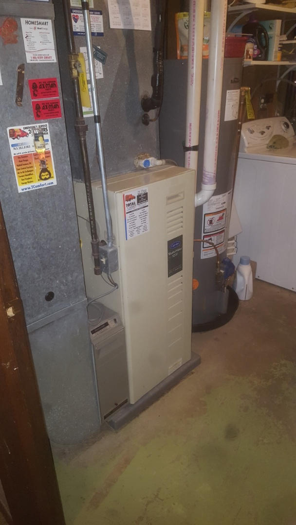 Furnace service repair tune up
