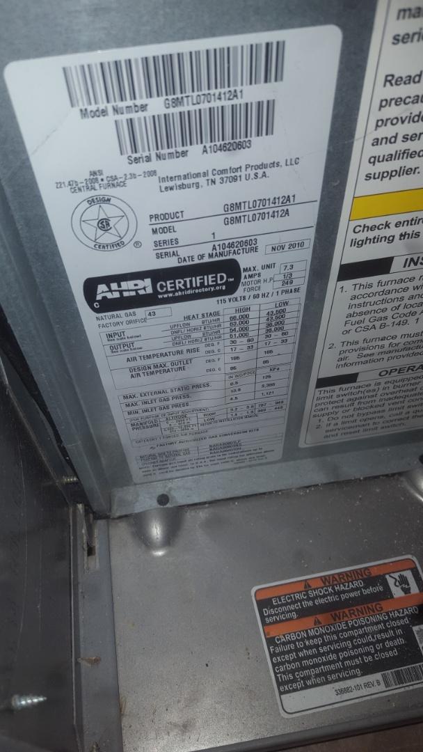 Eden Prairie, MN - Furnace AC service repair tune up