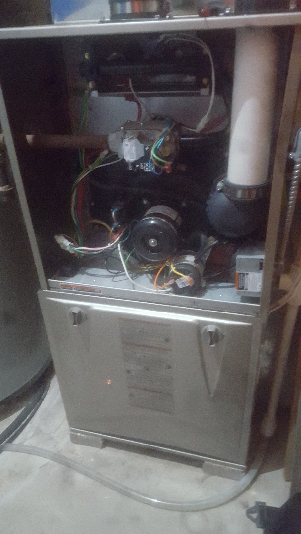 Furnace AC tune up repair service