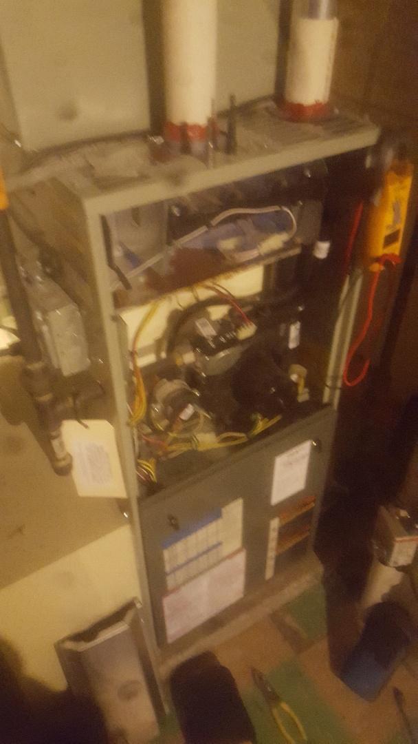 Furnace tune up service repair