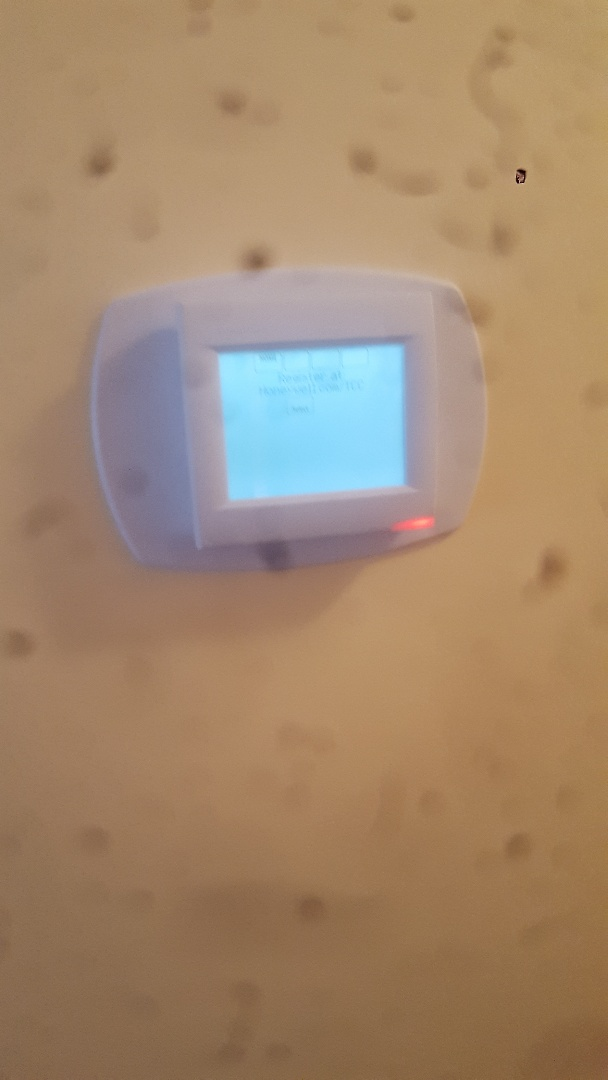 Thermostat service repair