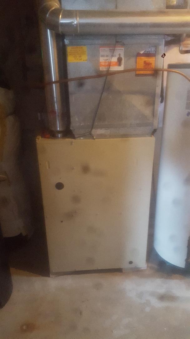 Furnace service repair tune up