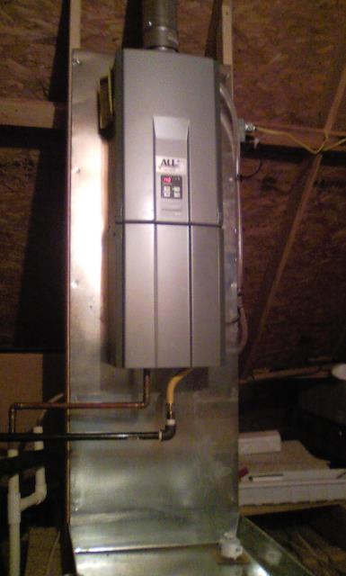 Monroe, LA - Plumber Needed: Replaced leaking Water Heater with Tankless water heater