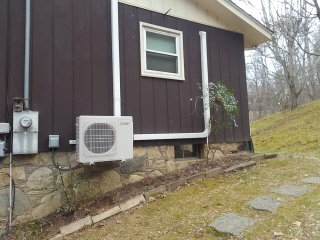Asheville, NC - Installed new multiple ductless Mitsubishi heat pump systems