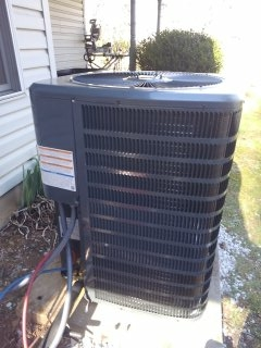 Installed Goodman two stage gas furnace with a good man single stage heat pump. Honeywell prestige 3.0 thermostat