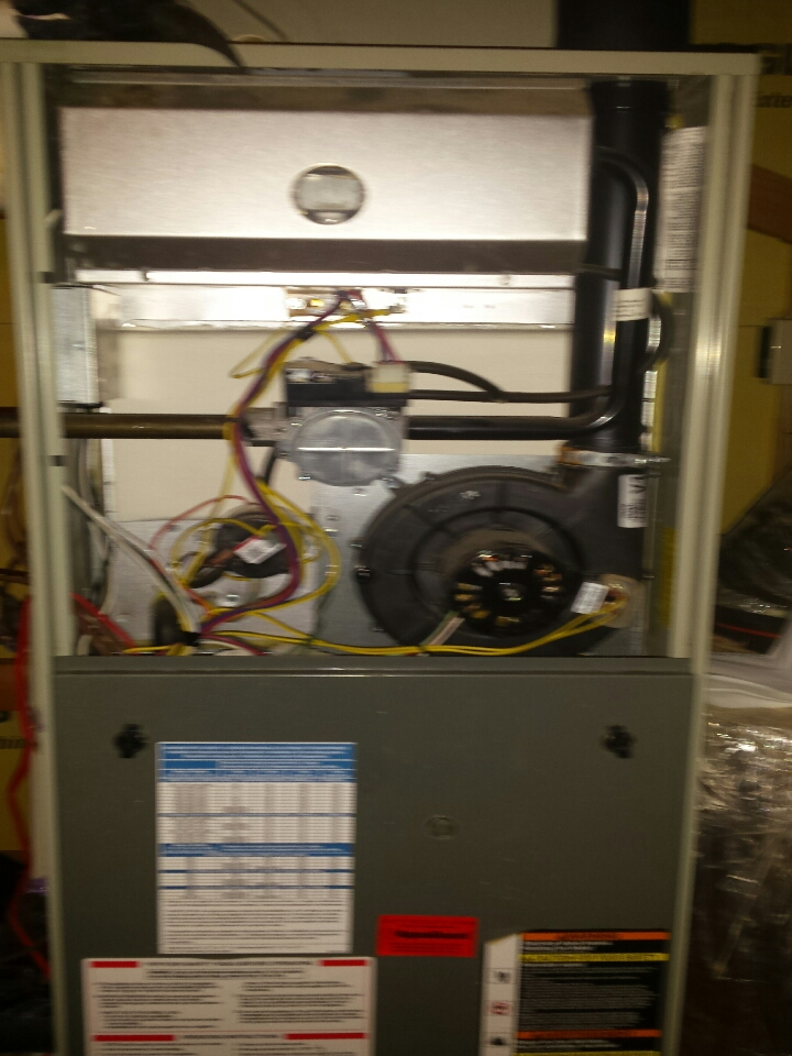 Arden, NC - tuneup on a Trade 2 stage gas furnace