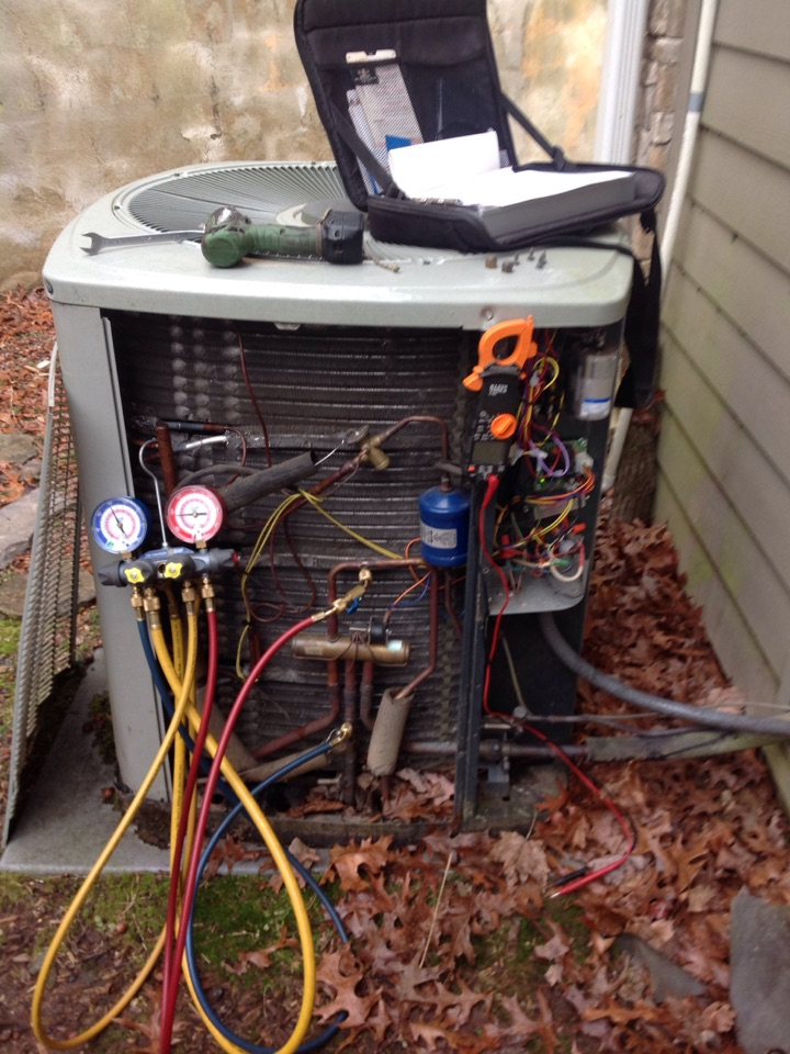 Brevard, NC - Heat pump tune up.