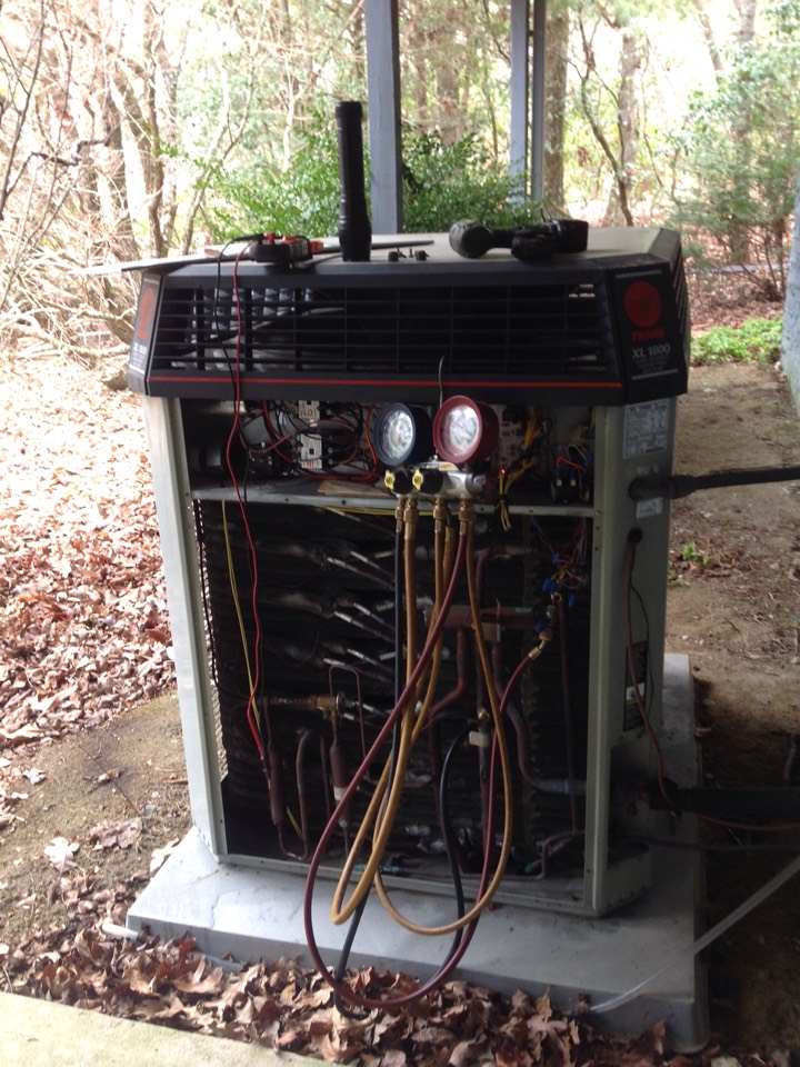 Brevard, NC - Multistage heat pump tune up.
