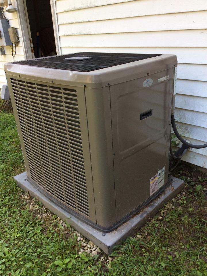 Hendersonville, NC - Fixing a communication glitch on a York heat pump