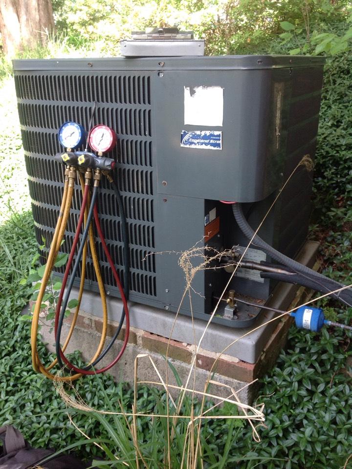 Hendersonville, NC - Goodman gas furnace / heat pump