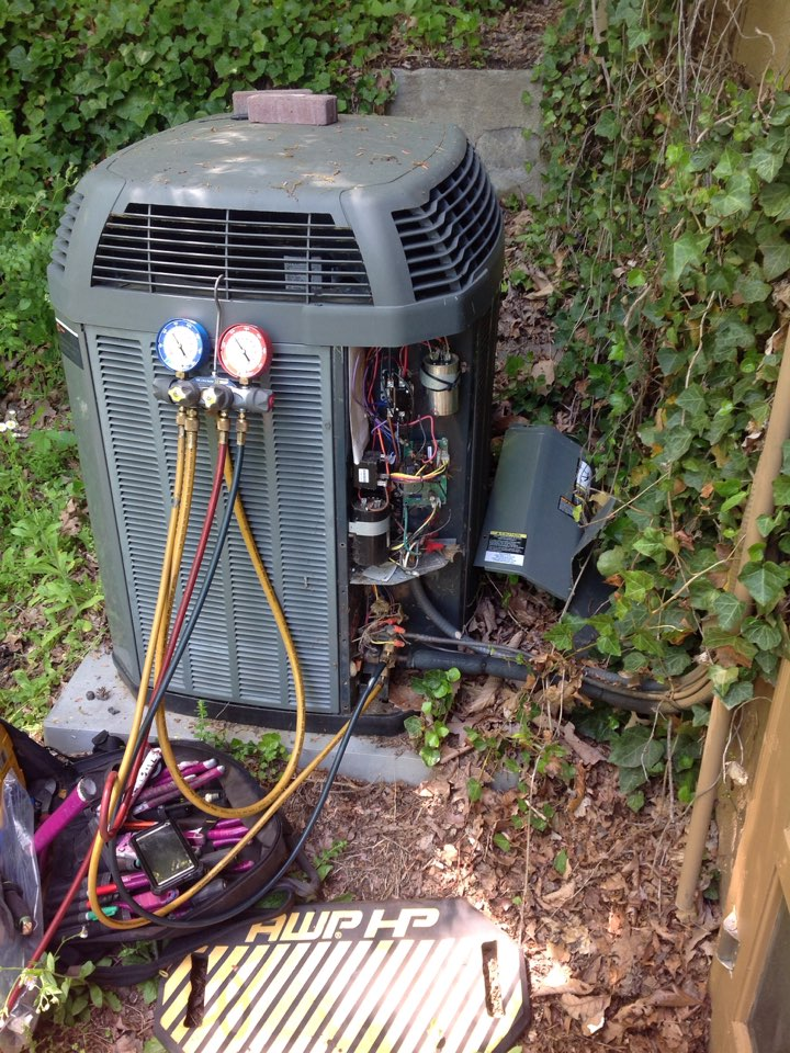 Fairview, NC - Trane heat pump
