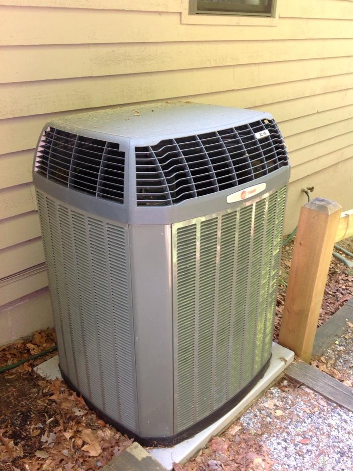 Brevard, NC - Trane heat pump