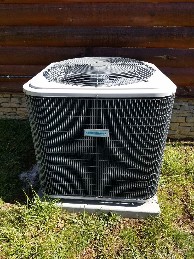 Mills River, NC - Residential hvac carrier comfort maker heat pump