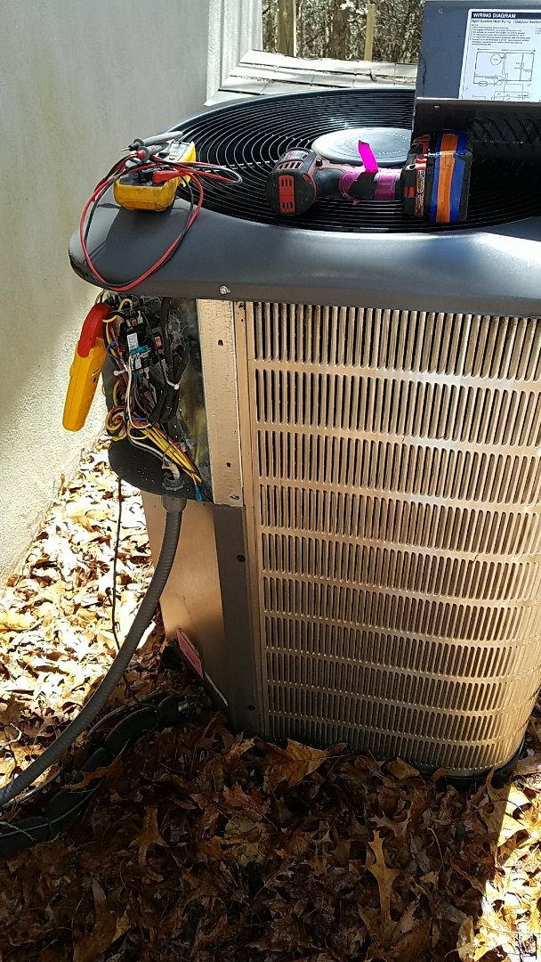 Pisgah Forest, NC - Residential hvac Maytag heat pump