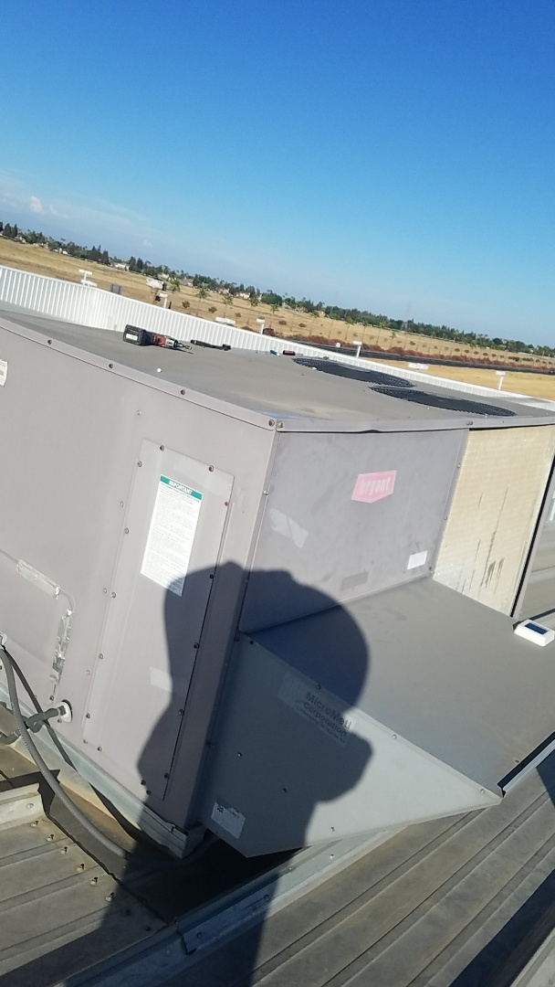 Chowchilla, CA - Air conditioner was not cooling.