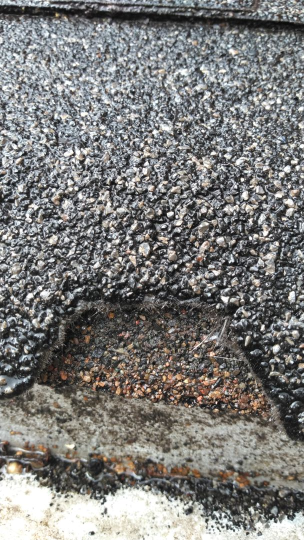 Olympia, WA - My customer has been dealing with there brittle cracking fiberglass shingles for 26 years and now they are ready for there new rubber based shingles we have that takes care of this problem and lasts 50 years.