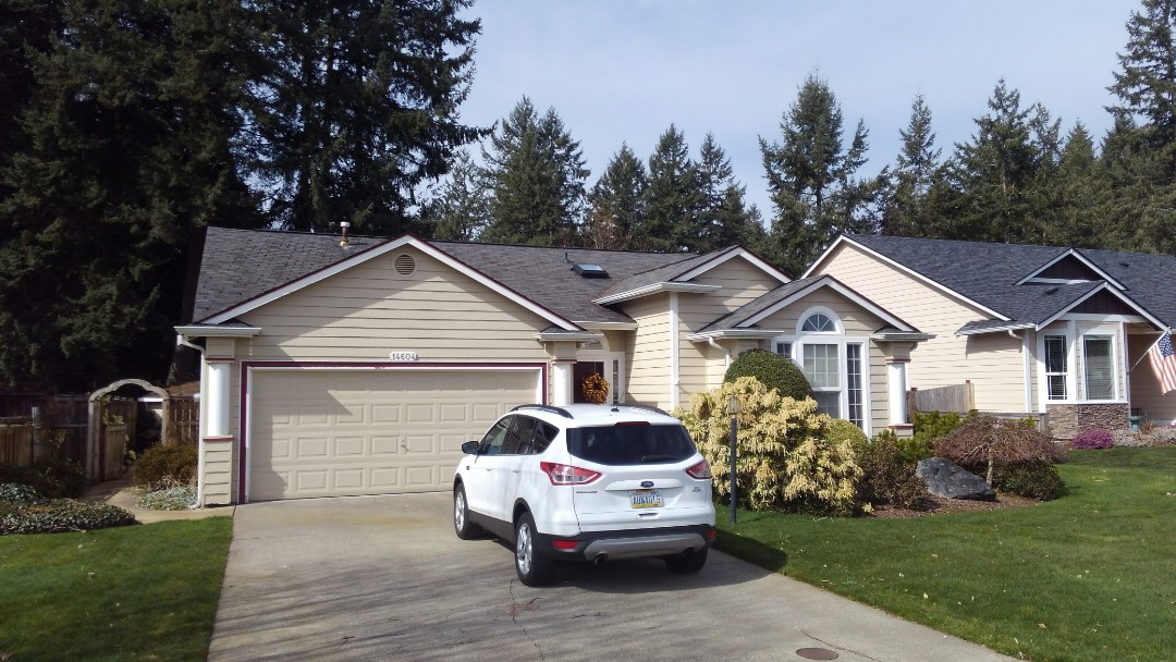Parkland, WA - Going to fix this leaky roof with a new one here outside of Spanaway and Parkland.