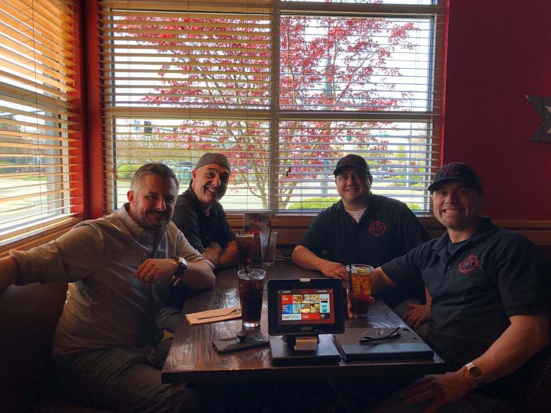 Lake Stevens, WA - Fueling up! State Roofing sales team.