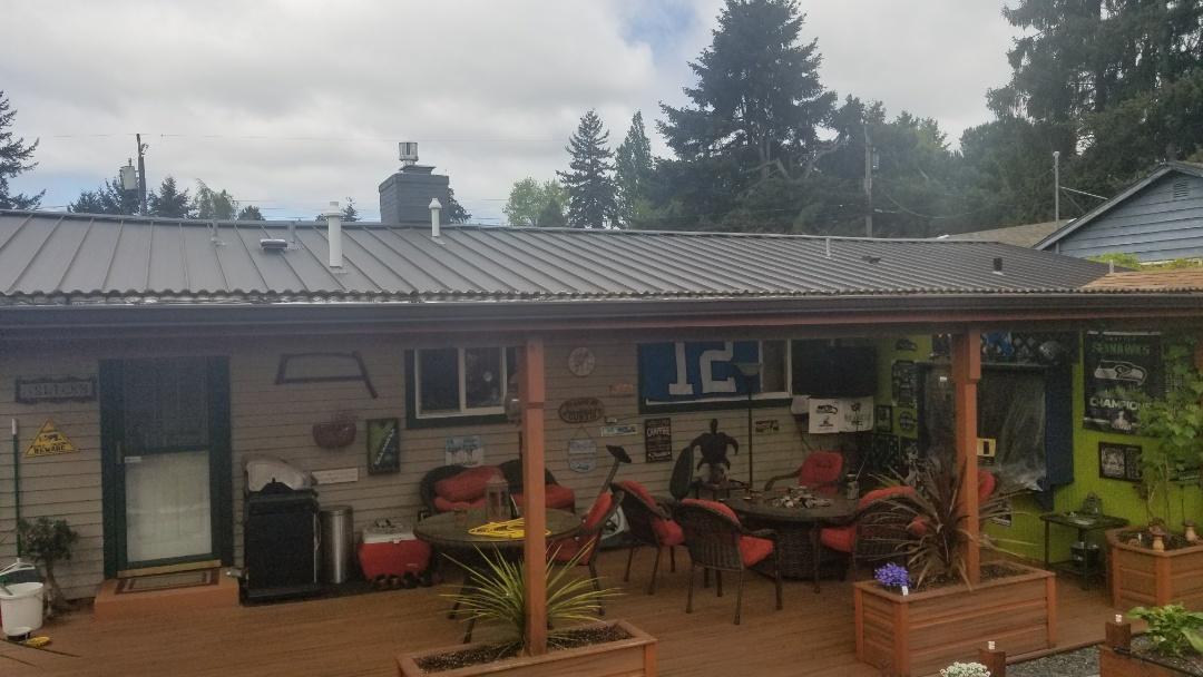 Shoreline, WA - Standing seam roof!
