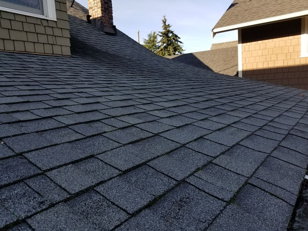 Seattle, WA -  Giving a free estimate for a Rubberlast 50 roof in Queen Ann.