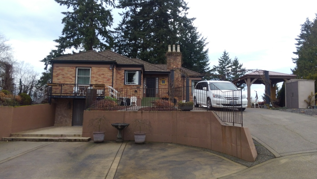 Bremerton, WA - Our customer out here by the water in Bremerton needs insurance to help them out with there holes through there metal roof from the Tornado. We will get you all fixed up Tom and Diane.