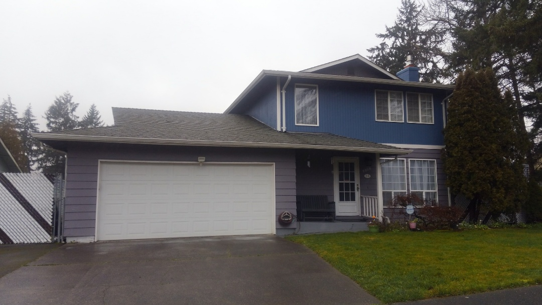 Tacoma, WA - Our customer loved the new rubber based shingle they are going to choose over there fiberglass based shingle that only lasted about 20 years, like we see on average.