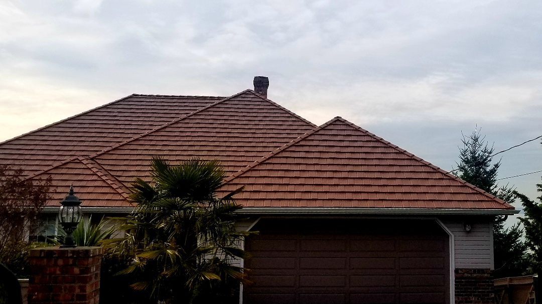 Camano Island, WA - Lifetime metal roof!