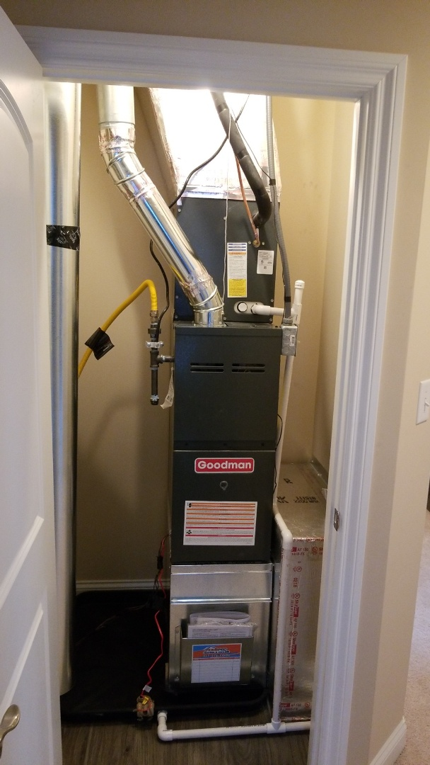 Noblesville, IN - New install of gas furnace, coil and ac
