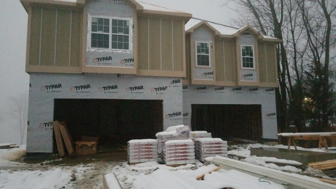 Fishers, IN - New construction rough in off  Gueist reservoir