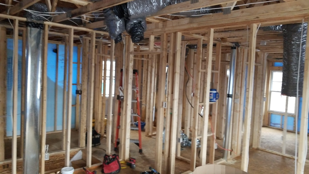Indianapolis, IN - New construction rough in work