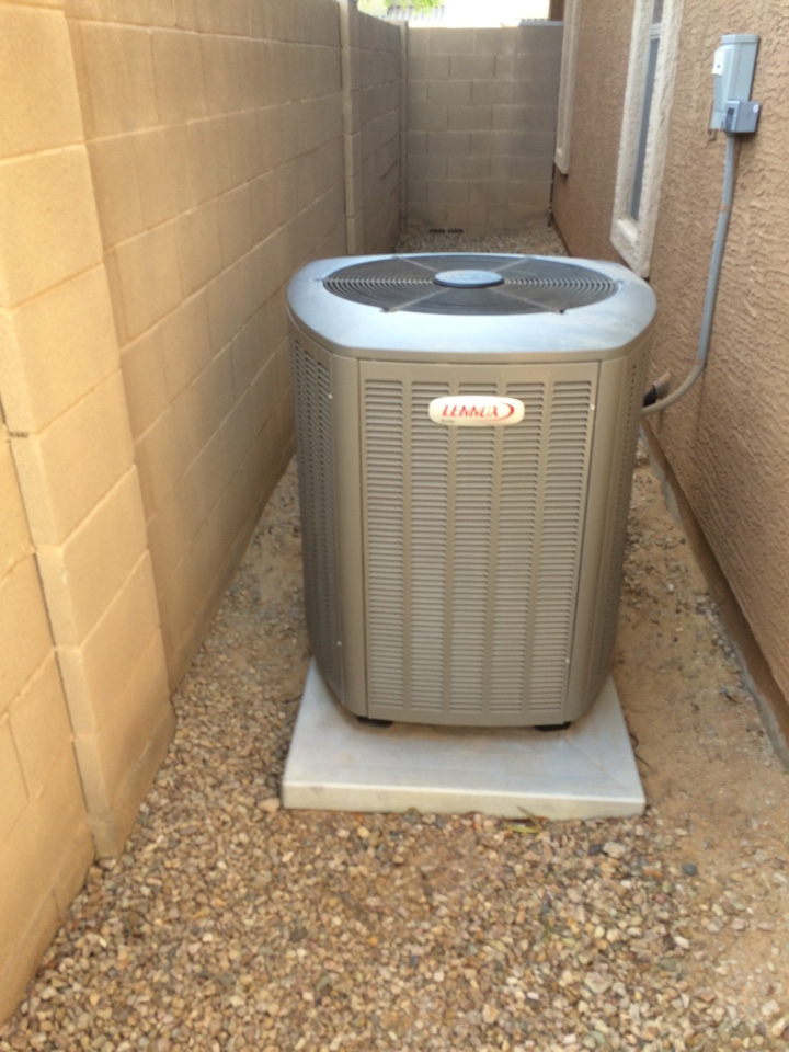 Queen Creek, AZ - AC tuneup on Lennox system