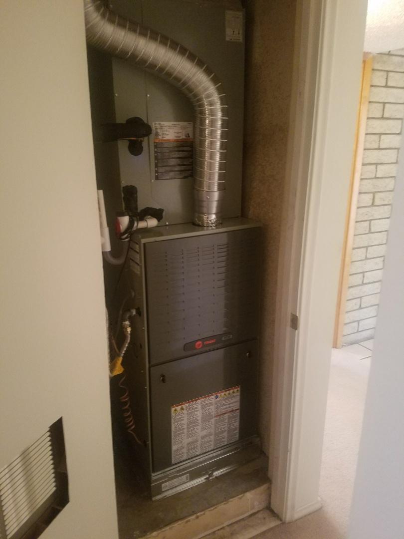 Phoenix, AZ - Install Trane 5 ton Split Gas System