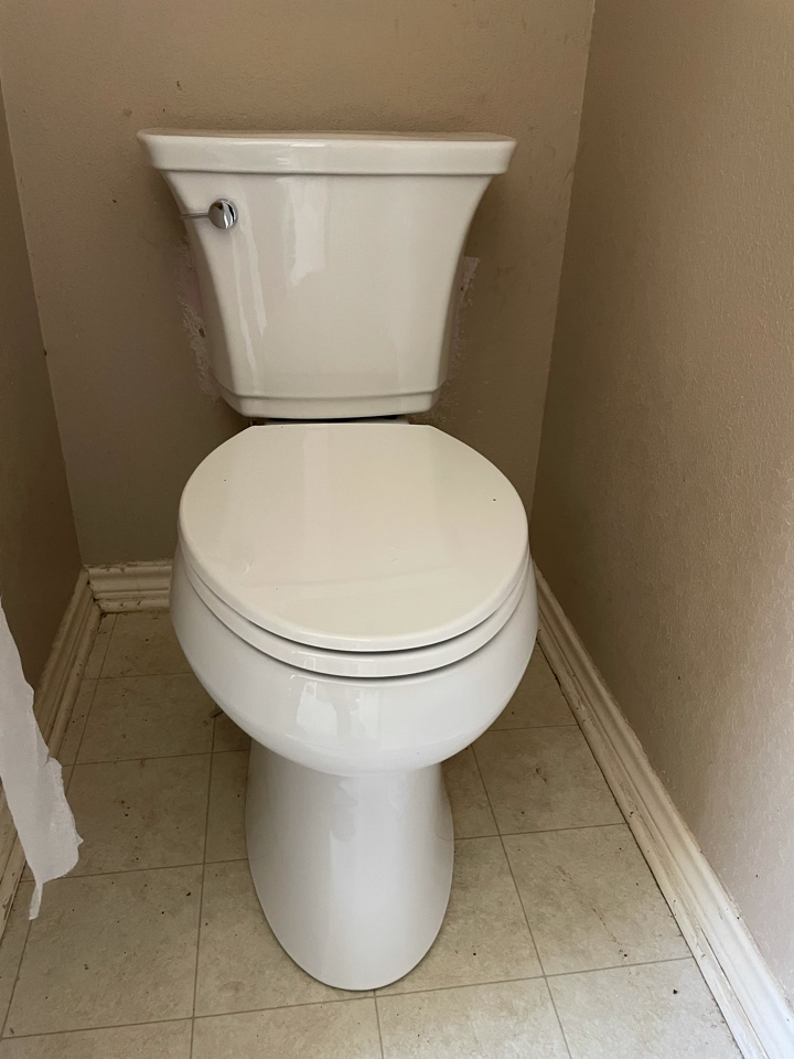 Cedar Park, TX - Replace toilet added new Kholer
