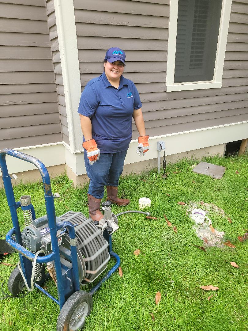 Georgetown, TX - Doing a yard drain cleaning. Lydia can do it.