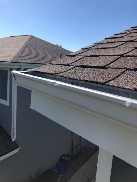 Englewood, CO - It's a beautiful day for a gutter install!