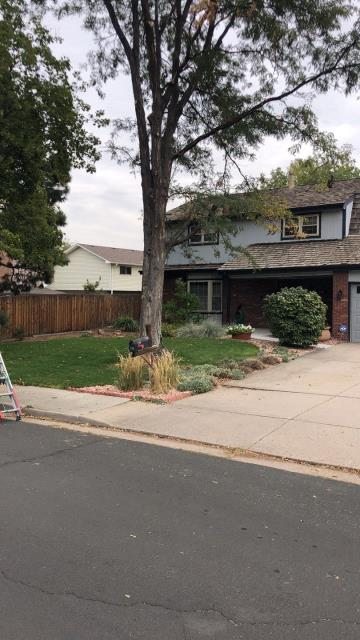 Aurora, CO - Loving this fall weather as we get started on an install at this beautiful home in Denver