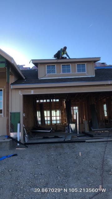 Arvada, CO - Progress on this new construction house