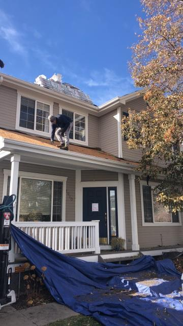 Denver, CO - We're making serious progress on this install and couldn't be happier to be working outside on this gorgeous day!